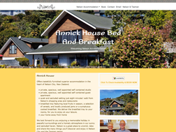 Annick House, Nelson Bed and Breakfast