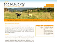 Dog Almighty, Nelson Tasman dog walkers and obedience trainers