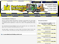 Heavy Industrial, industrial, construction, foresty and transport training