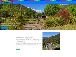 Rainbow Valley Community, Backpackers & Camping in Golden Bay