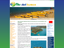 The Abel Tasman - accommodation and activities in the Abel Tasman